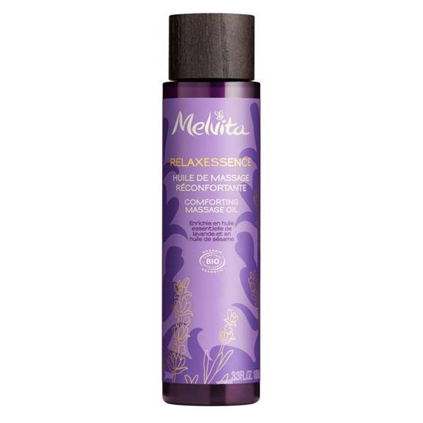 Melvita Relaxessence Huile de Massage Réconfortante Bio 100ml