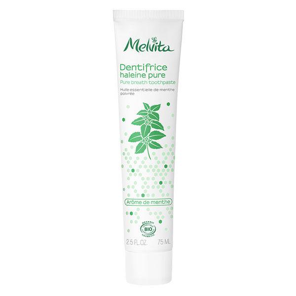 Melvita Les Essentiels Dentifrice Haleine Pure Menthe Bio 75ml