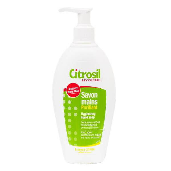 Citrosil Gel Savon Mains Purifiant Liquide Essence de Citron 250ml