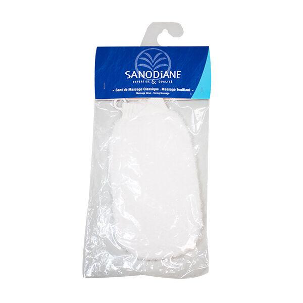 Sanodiane Gant de Massage Classique Blanc