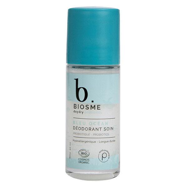 Biosme Daydry Probiotic Déodorant Bleu Océan Rechargeable Roll-On Edition Limitée 50ml