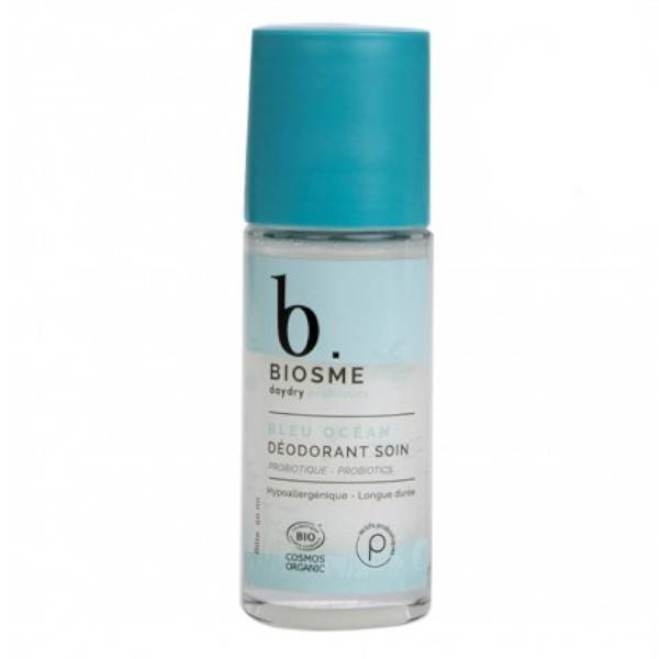 DayDry Biosme Daydry Probiotic Déodorant Bleu Océan Rechargeable Roll-On Edition Limitée 50ml
