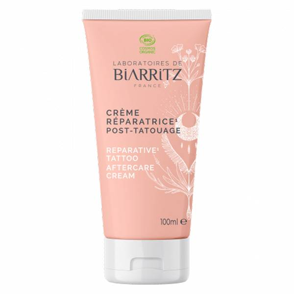 Laboratoires de Biarritz Algacicosa Crème Réparatrice Post-Tatouage Bio 100ml