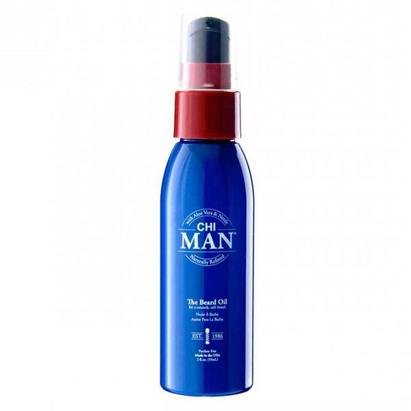 Chi Man The Beard Oil Huile de Barbe 59ml