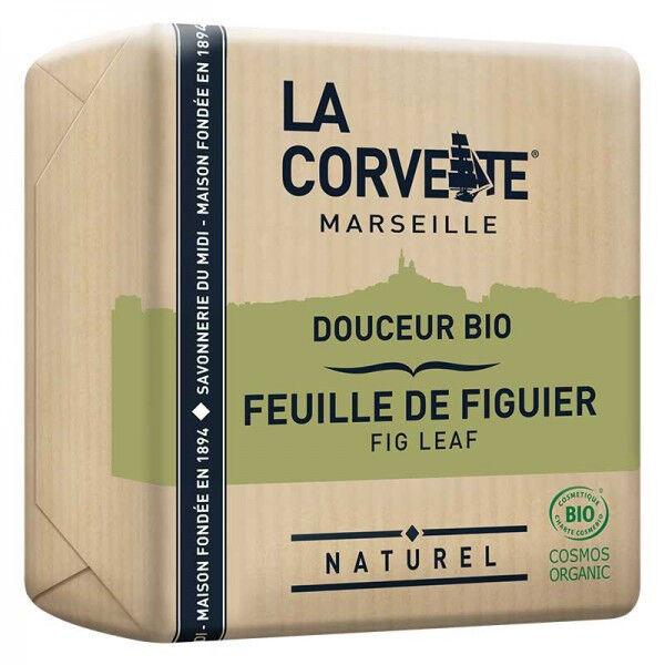 La Corvette Marseille Savon Douceur Bio Feuille de Figuier 100g