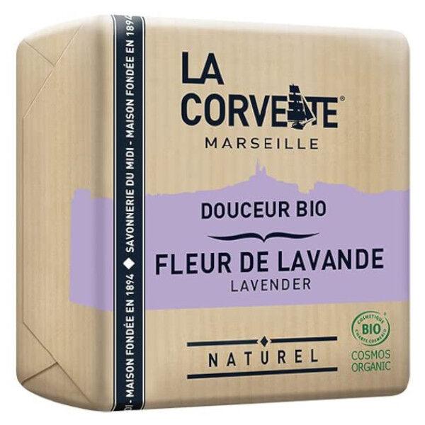 La Corvette Marseille Savon Douceur Bio Fleur de Lavande 100g
