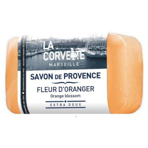 La Corvette Marseille Savon de Provence Fleur d'Oranger Filmé 100g