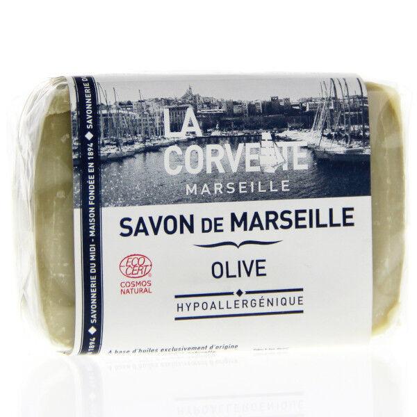 La Corvette Marseille Savon de Marseille Olive Filmé 100g