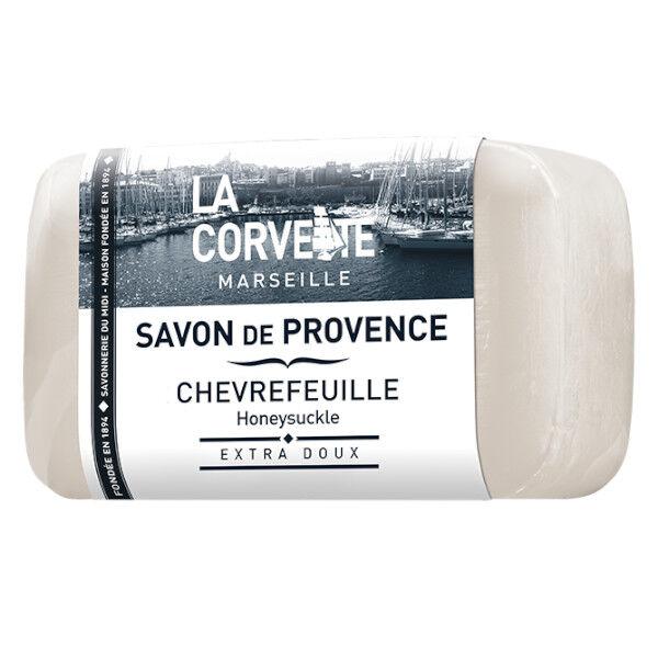 La Corvette Marseille Savon de Provence Chèvrefeuille Filmé 100g