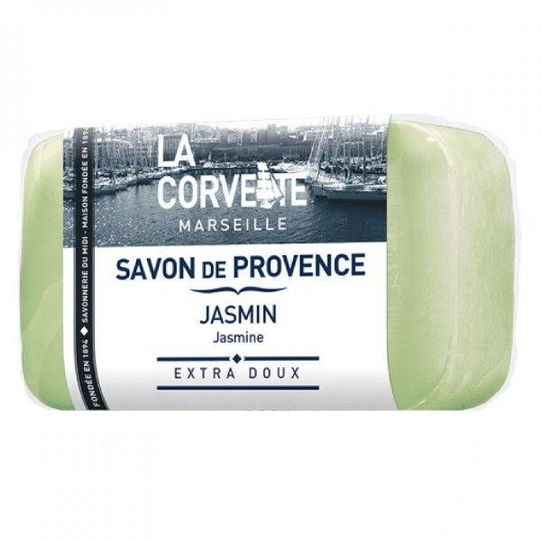 La Corvette Marseille Savon de Provence Jasmin Filmé 100g