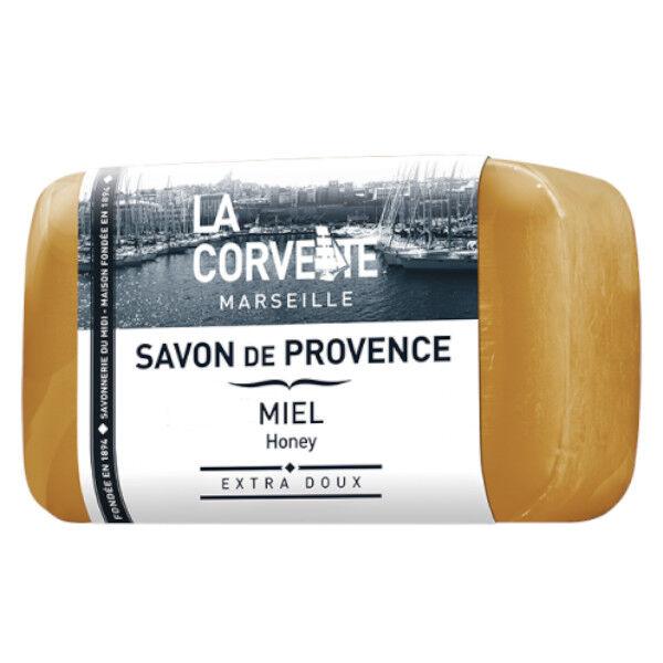 La Corvette Marseille Savon de Provence Miel Filmé 100g