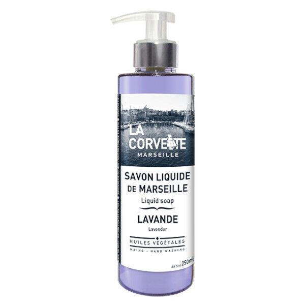La Corvette Marseille Savon Liquide de Marseille Lavande 250ml