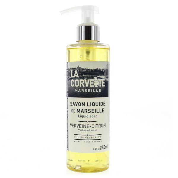 La Corvette Marseille Savon Liquide de Marseille Verveine-Citron 250ml