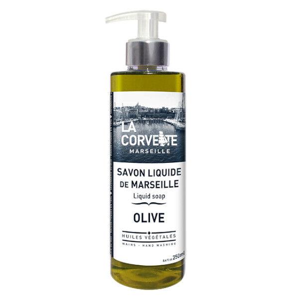 La Corvette Marseille Savon Liquide de Marseille Olive 250ml
