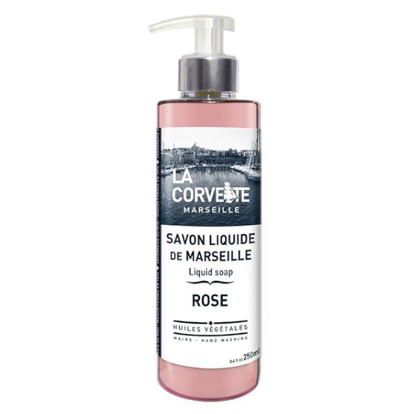 La Corvette Marseille Savon Liquide de Marseille Rose 250ml