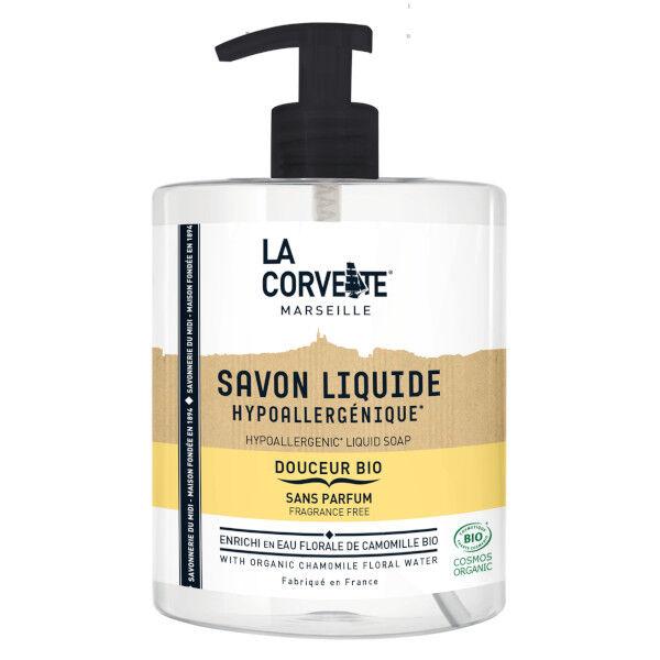 La Corvette Marseille Savon Liquide Sans Parfum Bio 500ml