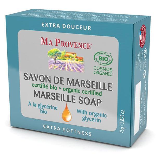 Ma Provence Savon de Marseille Glycérine Bio 75g