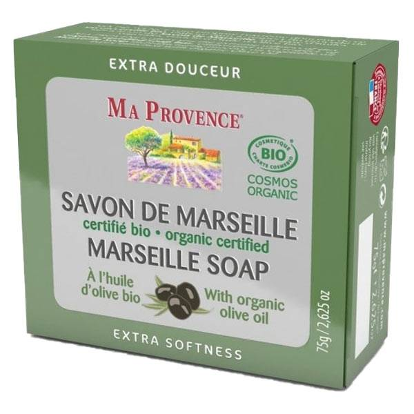 Ma Provence Savon de Marseille Huile d'Olive Bio 75g
