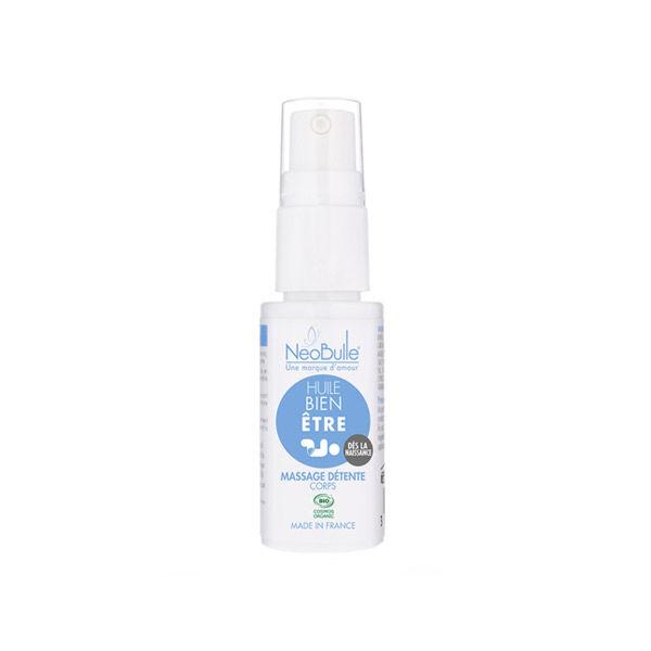 Neobulle Bien-Etre Huile Massage Détente Bio 20ml