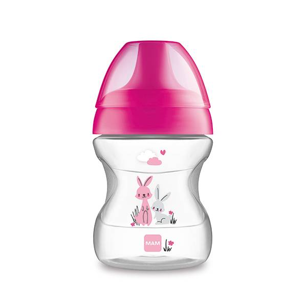MAM Tasse Apprentissage Rose 190ml