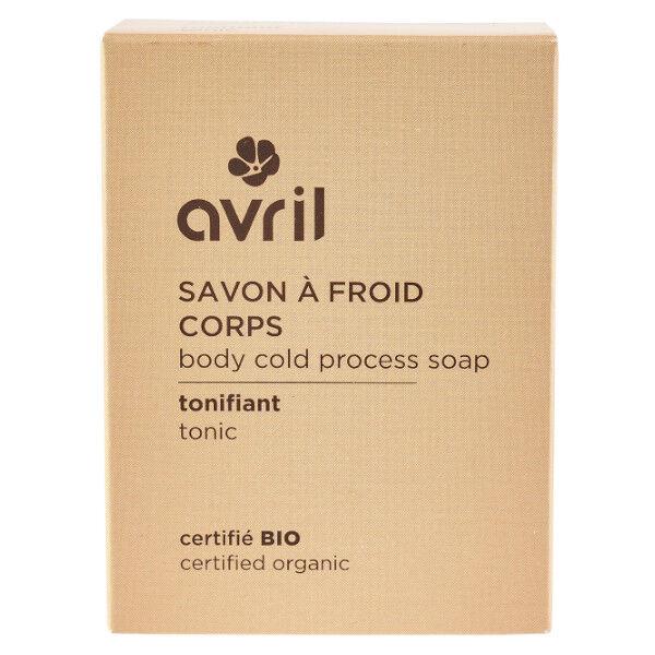Avril Savon à Froid Corps Tonifiant Bio 100g