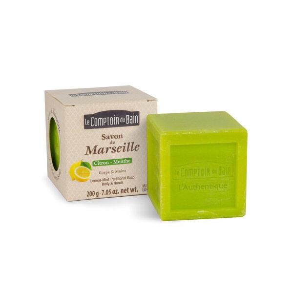 Le Comptoir du Bain Savon de Marseille Citron-Menthe 200g
