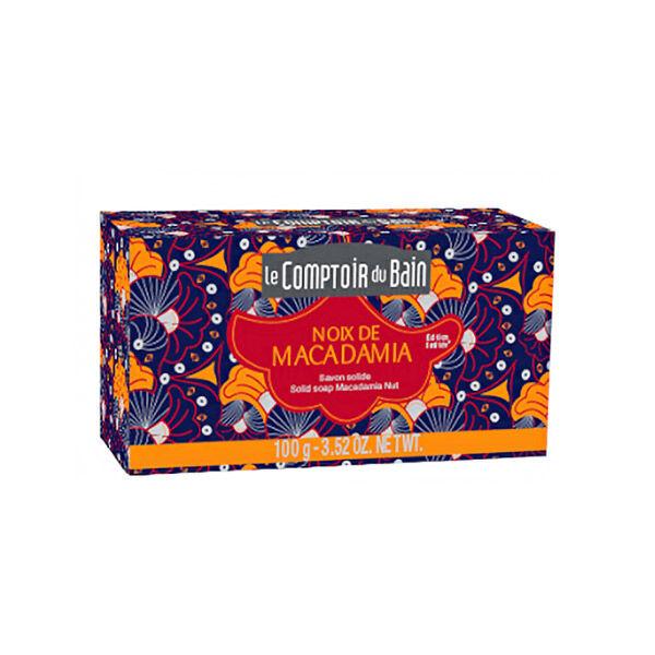 Le Comptoir du Bain Savon Solide Noix de Macadamia 100g
