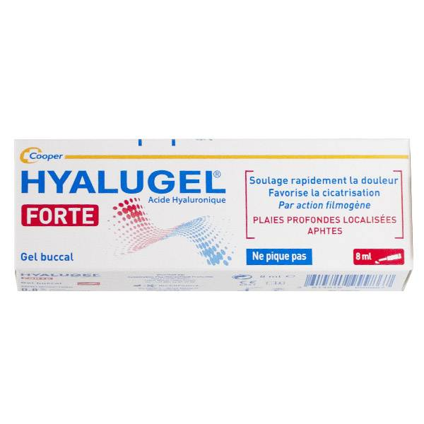 Hyalugel Forte Gel 8ml