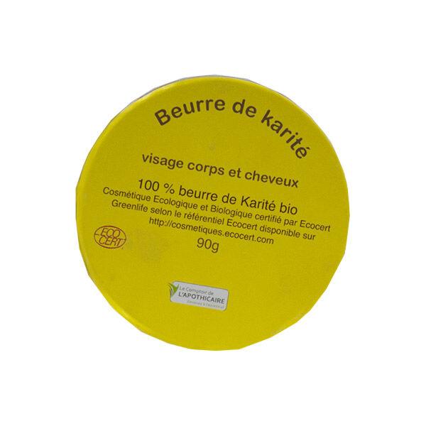 Comptoir de l Apothicaire Le Comptoir de l'Apothicaire Beurre de Karité Bio 90g