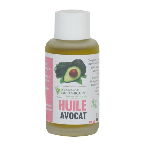 Le Comptoir de l'Apothicaire Huile Végétale Bio Avocat 50ml