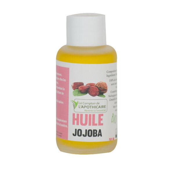 Le Comptoir de l'Apothicaire Huile Végétale Bio Jojoba 50ml