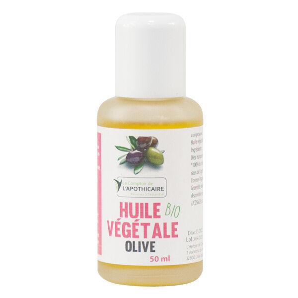 Comptoir de l'Apothicaire Huile Végétale Olive Bio 50ml