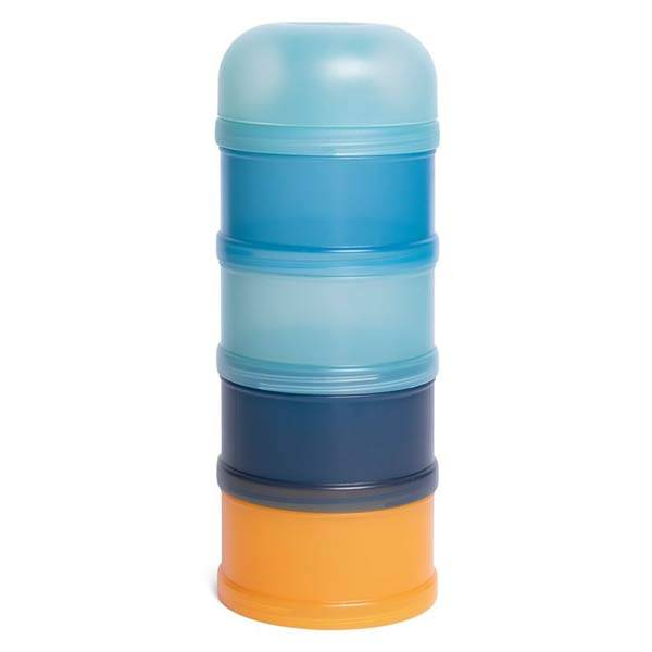Suavinex Alimentation Doseur de Lait 4 Compartiments Into the Forest Bleu