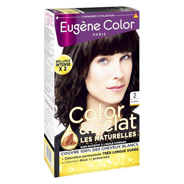 Eugène Color Les Naturelles Crème Colorante Permanente n°2 Châtain