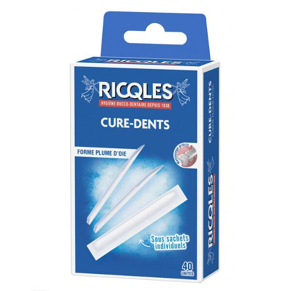 Ricqles Cure-Dents 40 unités