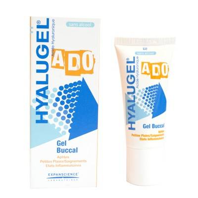 Hyalugel Ado Gel Buccal 20ml