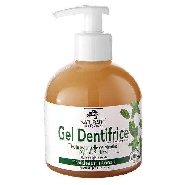 Naturado en Provence Naturado Dentifrice Gel Menthe Xylitol Bio 300ml