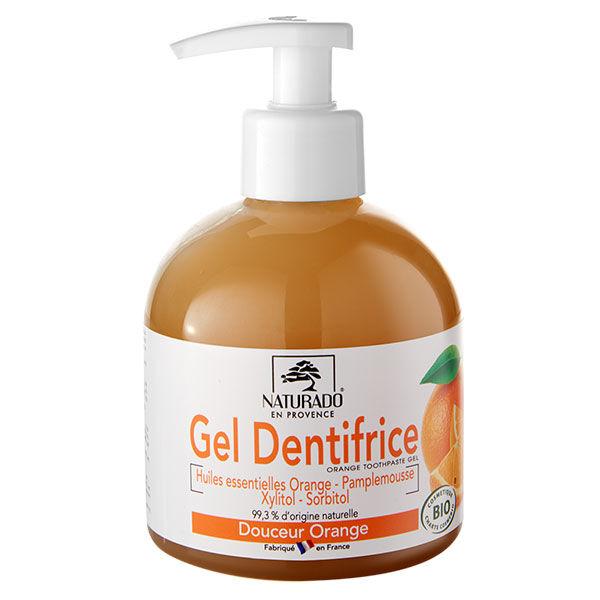 Naturado en Provence Naturado Dentifrice Gel Orange Xylitol Bio 300ml