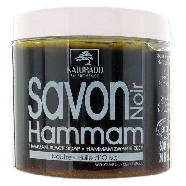 Naturado en Provence Naturado Savon Noir Hammam Bio 600g