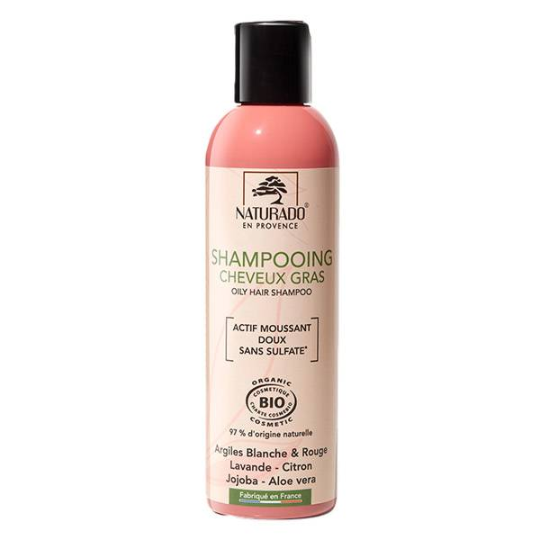 Naturado Shampooing Cheveux Gras Sans Sulfate 200ml