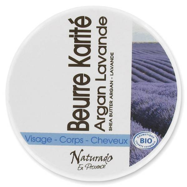 Naturado en Provence Naturado Beurre de Karité Argan Lavande bio 150ml