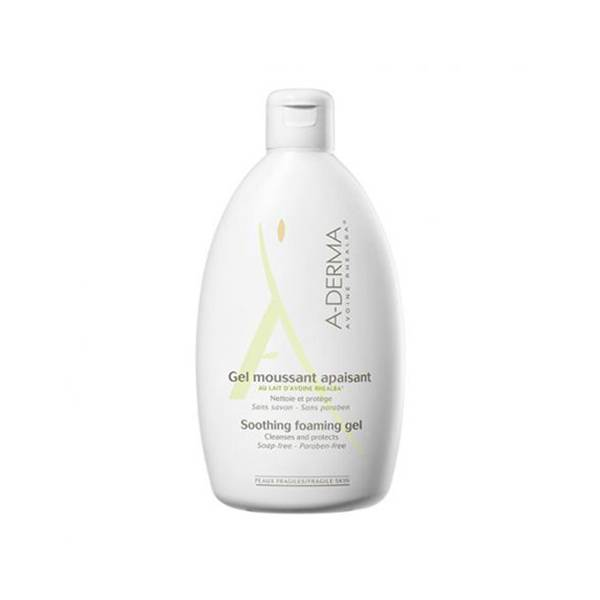 Aderma Gel Moussant au Lait d'Avoine 500ml