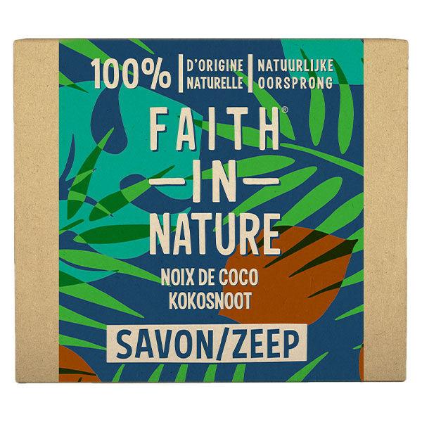 Faith In Nature Savon Mains Solide Noix de Coco 100g