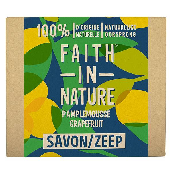 Faith In Nature Savon Mains Solide Pamplemousse 100g