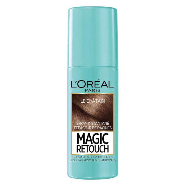 L'Oréal Paris Magic Retouch Spray Retouche Racines Châtain 75ml