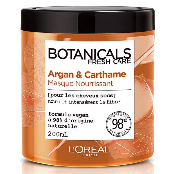 L'Oreal Paris L'Oréal Botanicals Argan & Carthame Masque Nourrissant 200ml