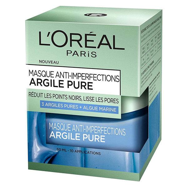 L'Oréal Paris L'Oréal Dermo Expertise Argile Pure Masque Anti-Imperfections 50ml
