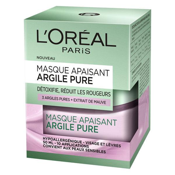 L'Oréal Paris L'Oréal Dermo Expertise Argile Pure Masque Apaisant 50ml