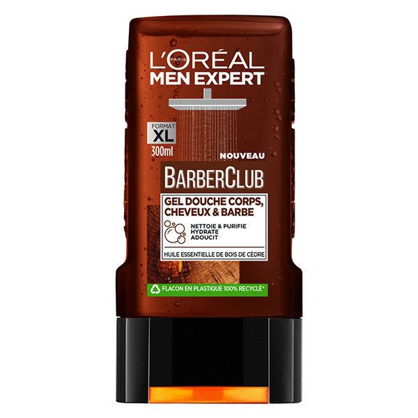L'Oréal Paris L'Oréal Men Expert BarberClub Gel Douche Corps Cheveux et Barbe 300ml