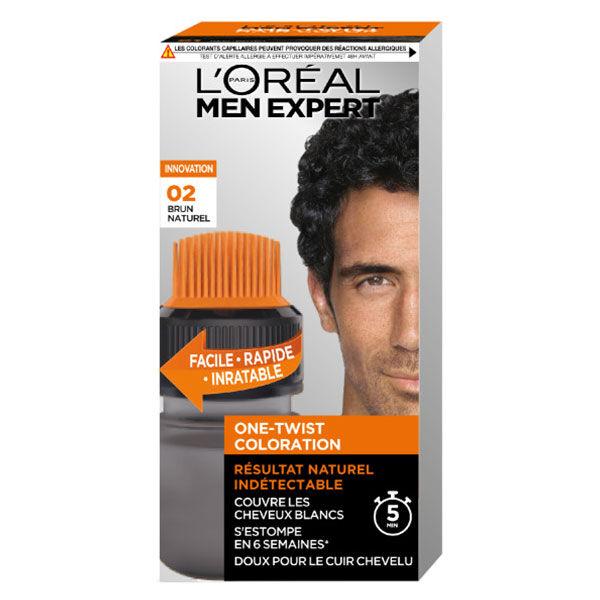 L'Oréal Paris Men Expert Coloration One-Twist N°2 Brun Naturel
